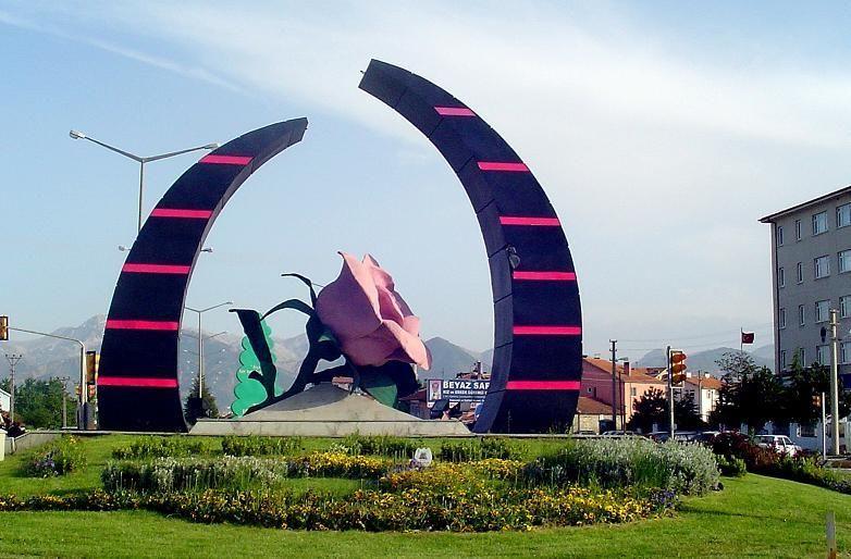 Испарта - город роз