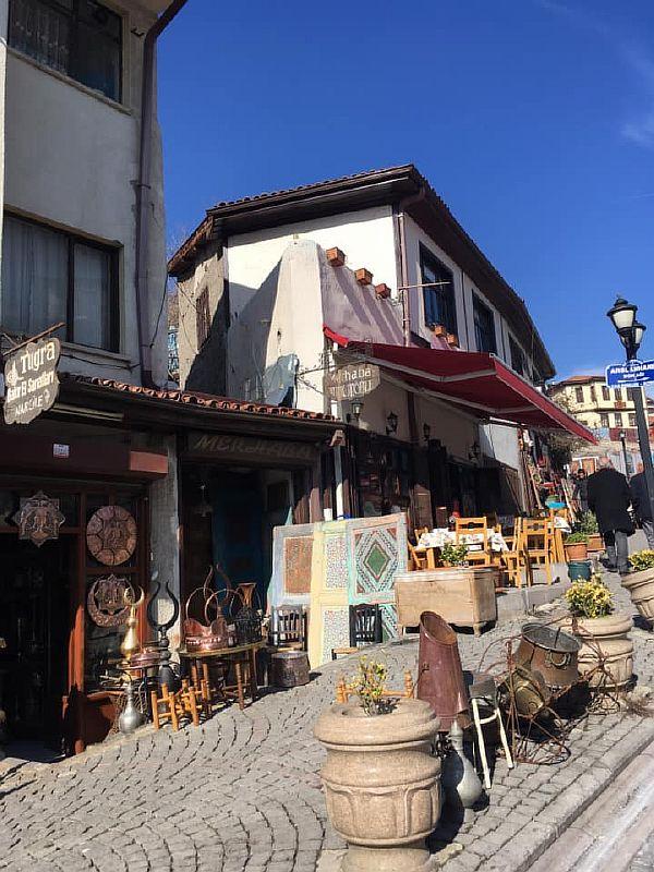 Улица Хамаммов Анкара
