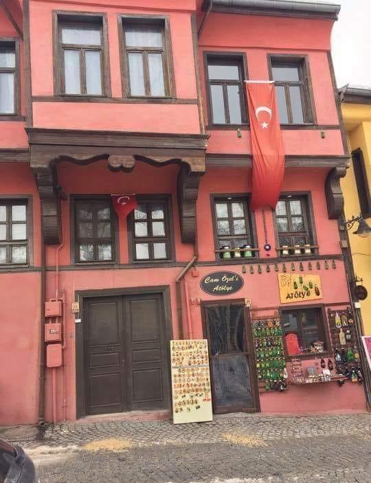 Эскишехир красочные дома