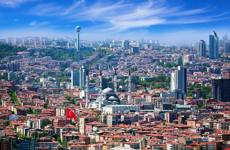 Анкара с высоты птичьего полета