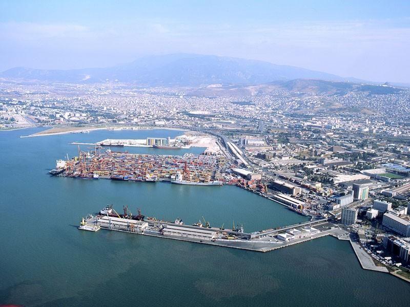 Портовая гавань Измира