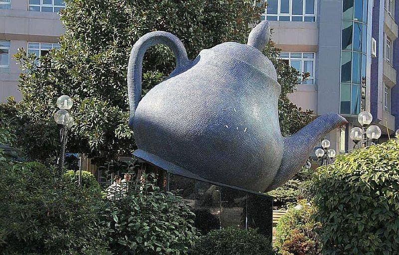 Символ города Ризе чай