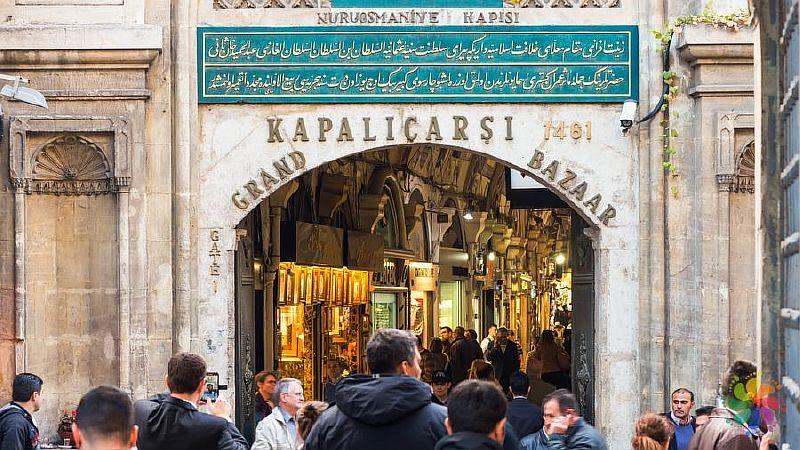 Рынок Гранд Базар в Стамбуле