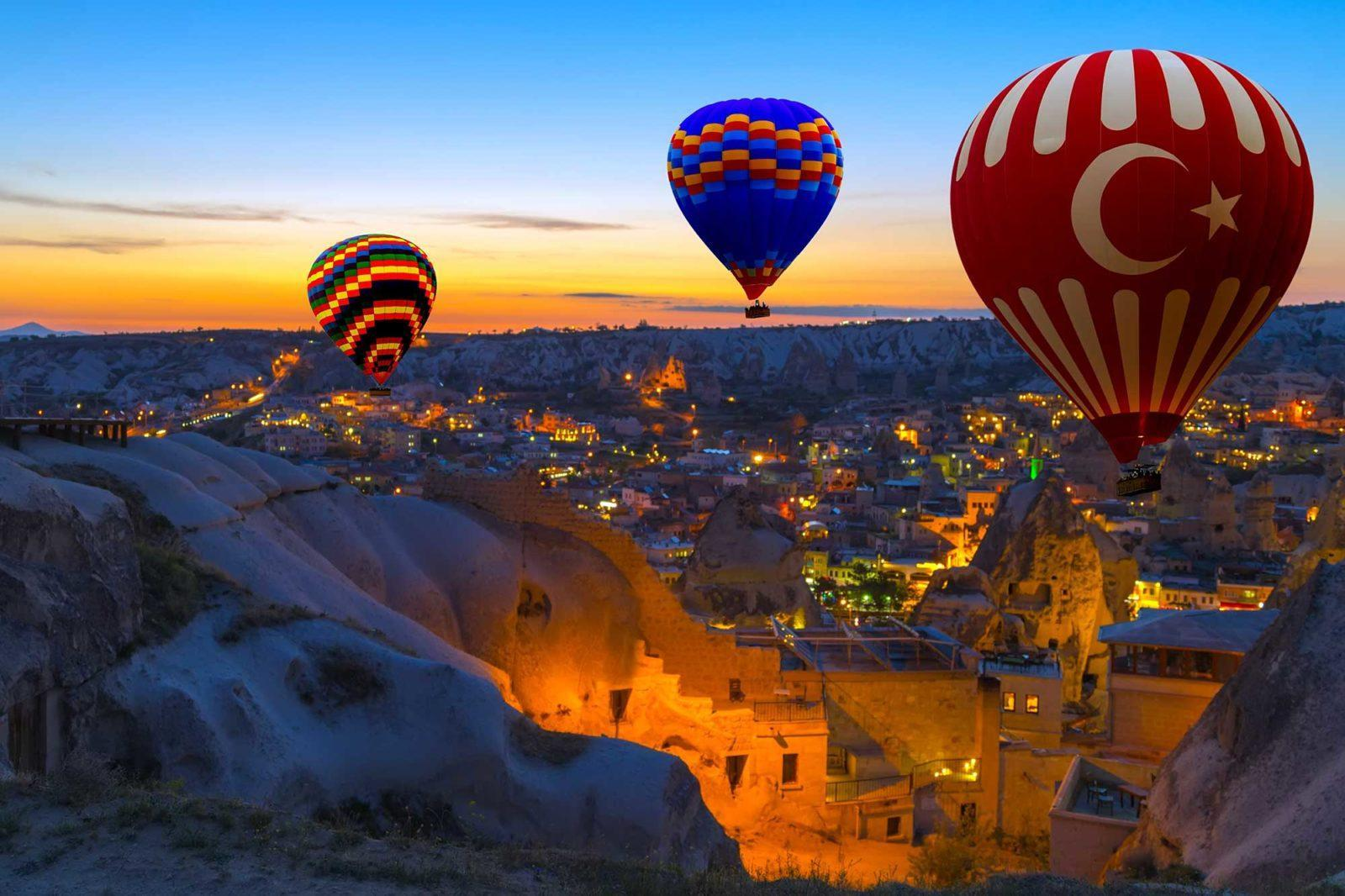 Полёт на воздушном шаре Каппадокия