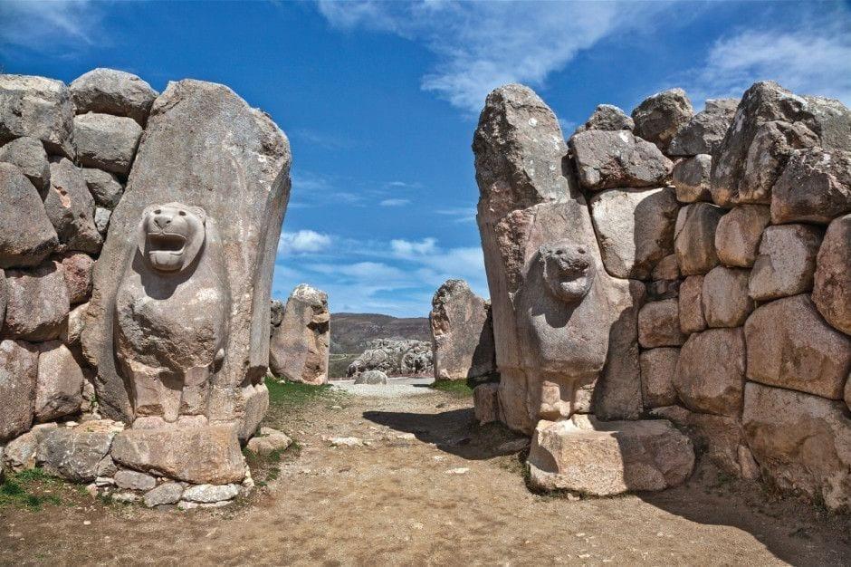 Руины города Хаттуша Белек