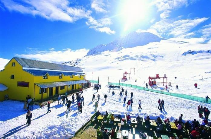 Горнолыжный курорт Саклыкент Анталия Турция