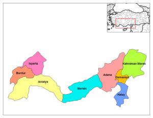 Средиземноморский регион Турции