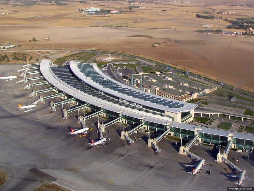 Аэропорт Анкара - Эсенбога