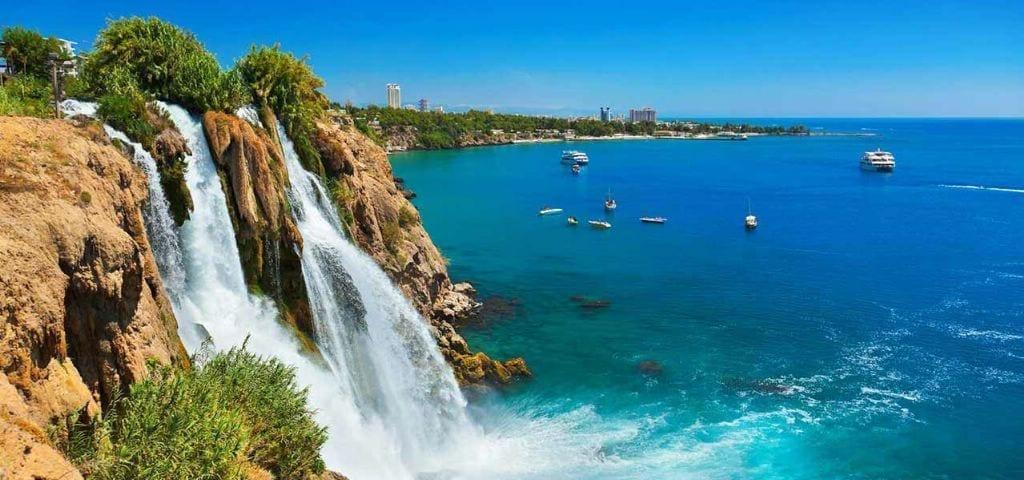 Нижний Дюденский водопад Анталия