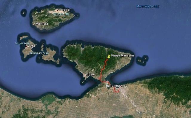 Острова мраморного моря