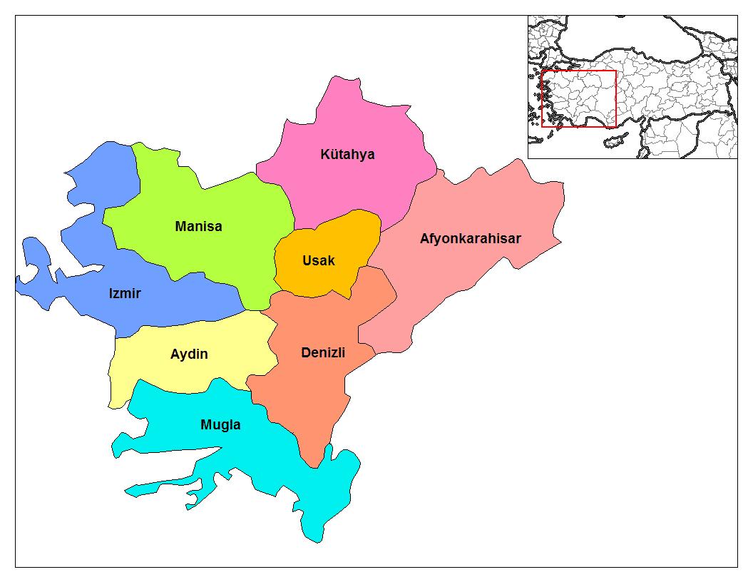 Эгейский регион Турции