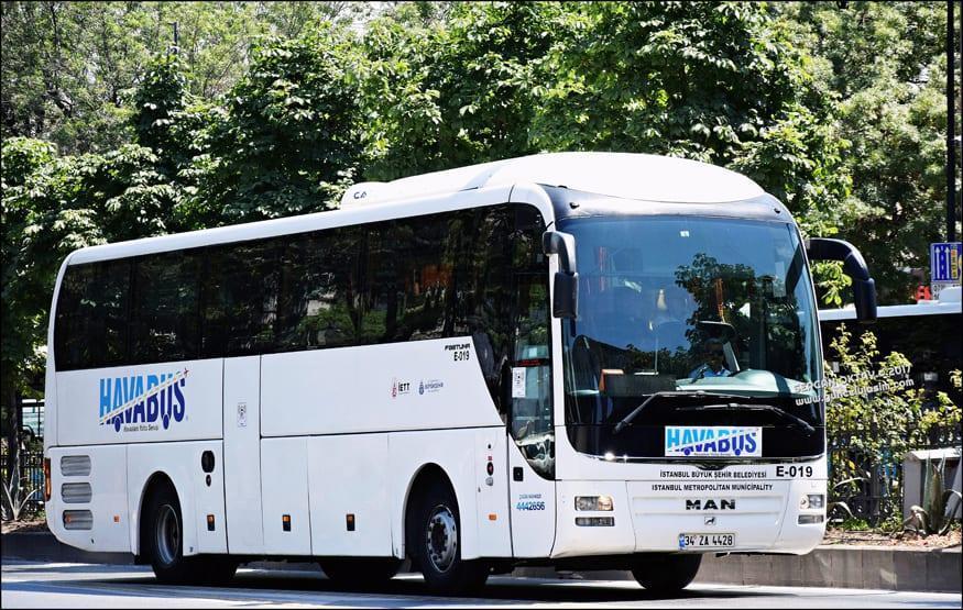 Автобусы компании Havabus