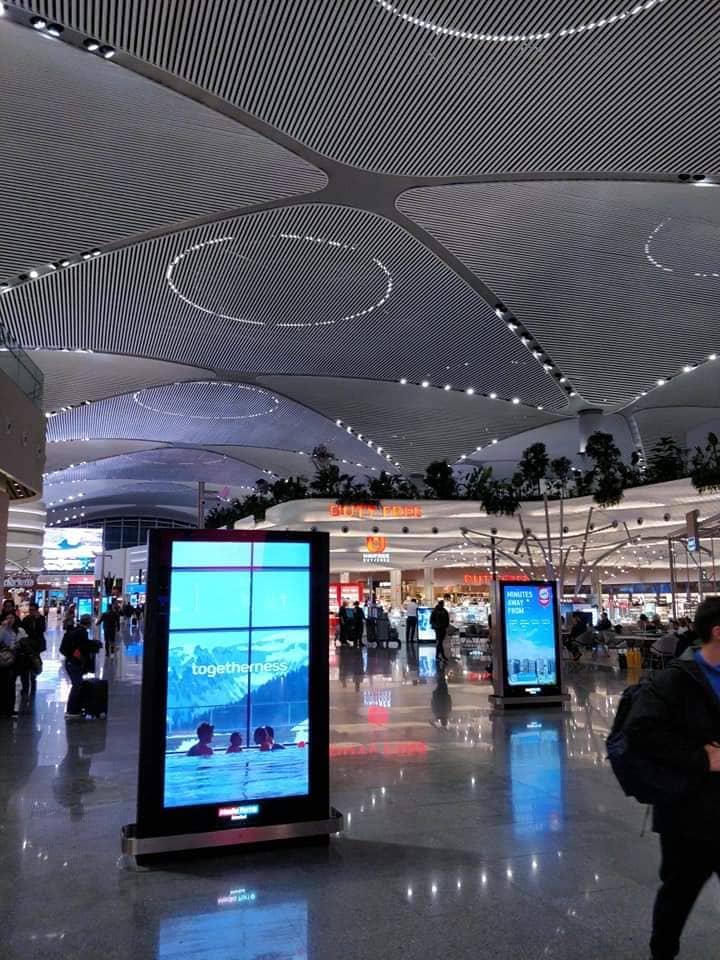 Стамбульский новый аэропорт