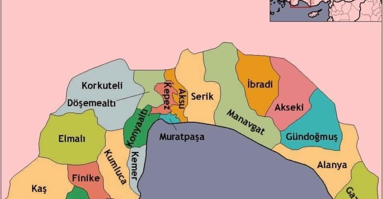 Провинция Анталия