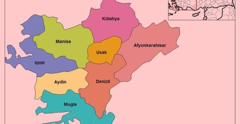 Эгейский регион Турции (Ege Bölgesi)