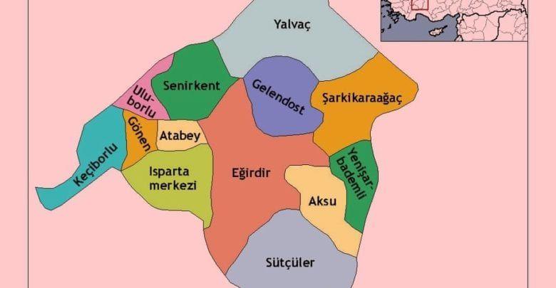 Провинция Ыспарта