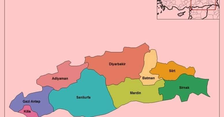 Юго-Восточно-Анатолийский регион Турции (Güneydoğu Anadolu Bölgesi)