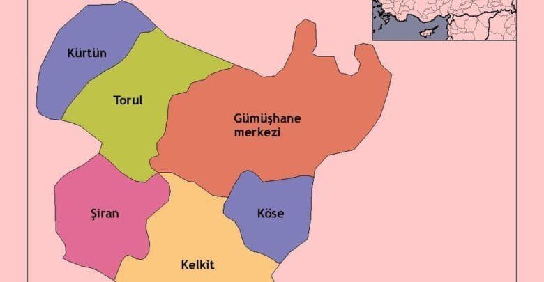 Провинция Гюмюшхане