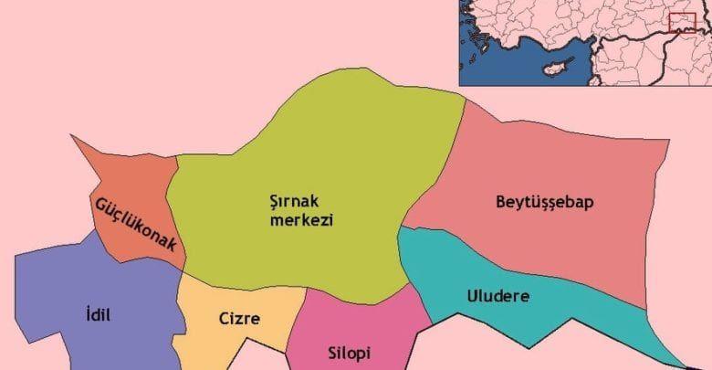 Провинция Ширнак