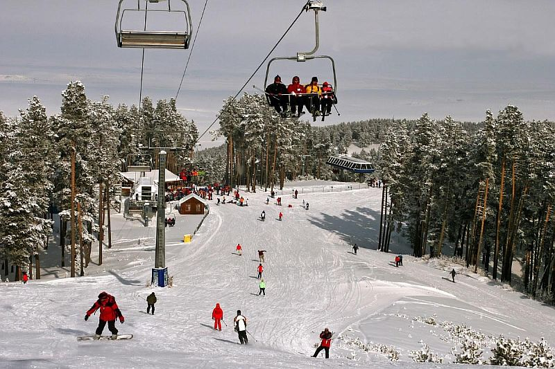 Популярный горнолыжный курорт в Турции - Джибылдепе