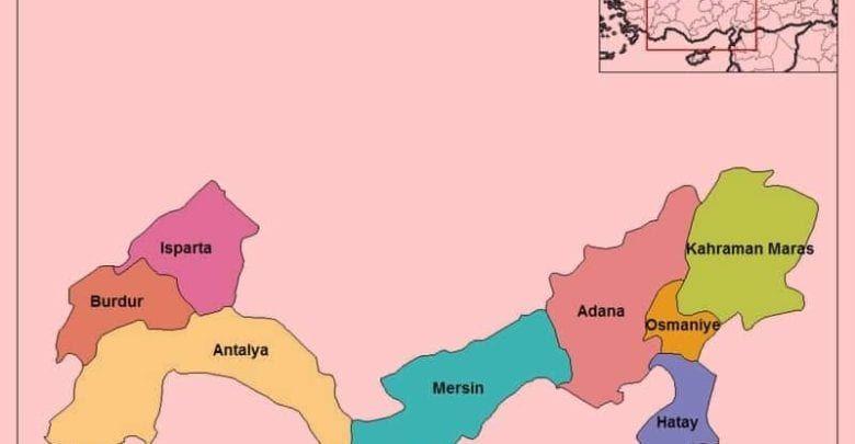 Средиземноморский регион (Akdeniz Bölgesi)