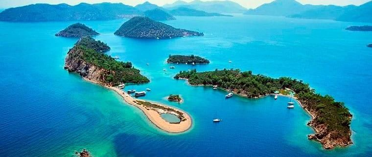 Даламан острова