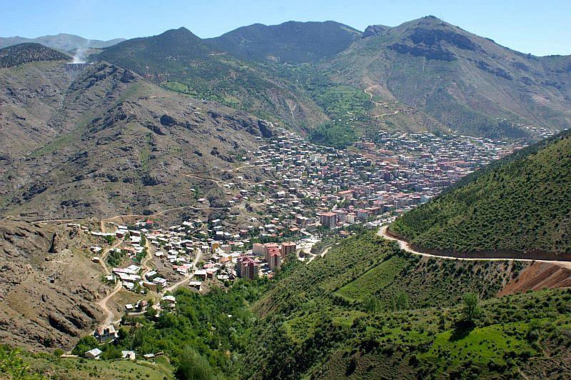 Курортный город Гюмюшхане