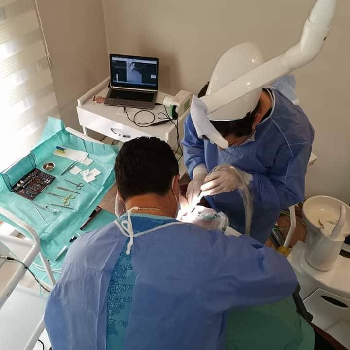 Работа стоматологов Турции