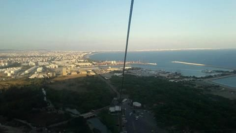 Вид на город Анталия