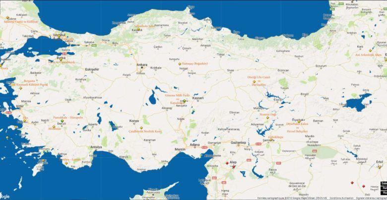 Photo of Турция на карте ЮНЕСКО