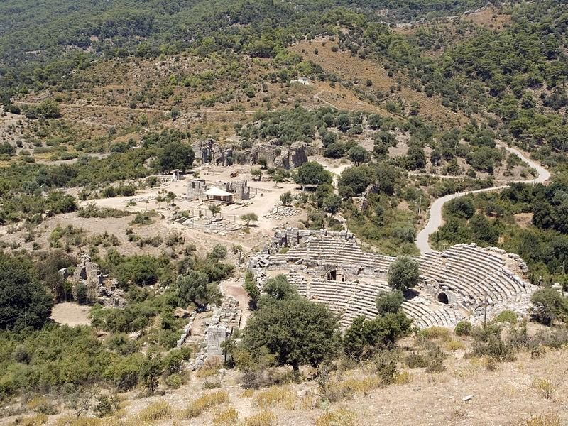 Античный город Кавн