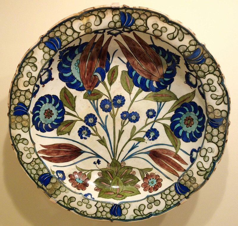 Тюльпаны в керамике