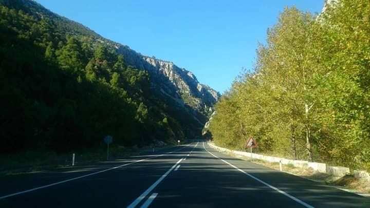 Дороги в горах Турции