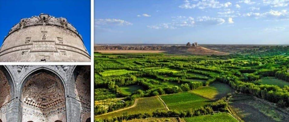 Сады Хевсель и крепость Диярбакыр