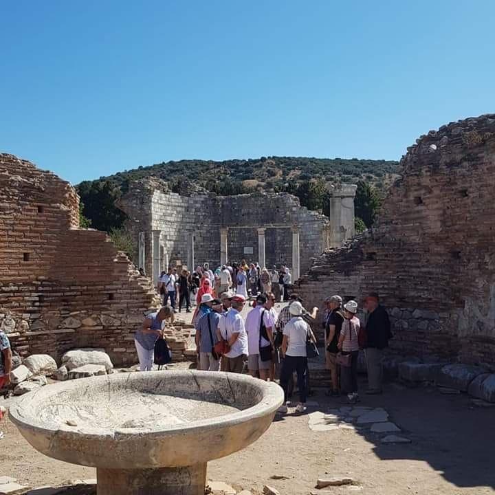 Эфес руины