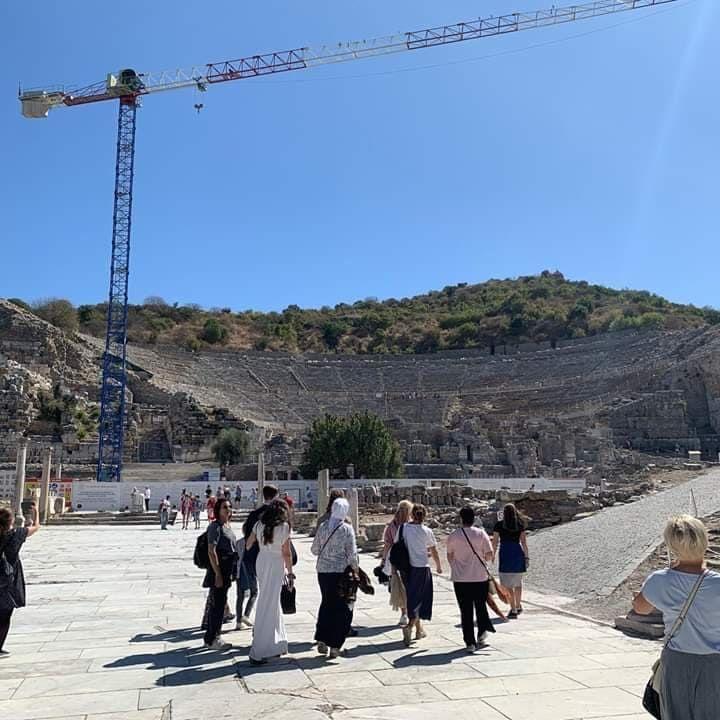 Работы по сохранению колизея Эфеса