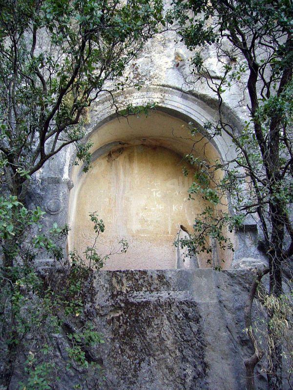Склепы в горах Термессос