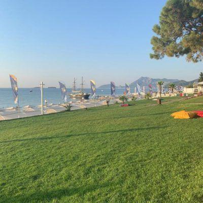 Пляжи Кемера