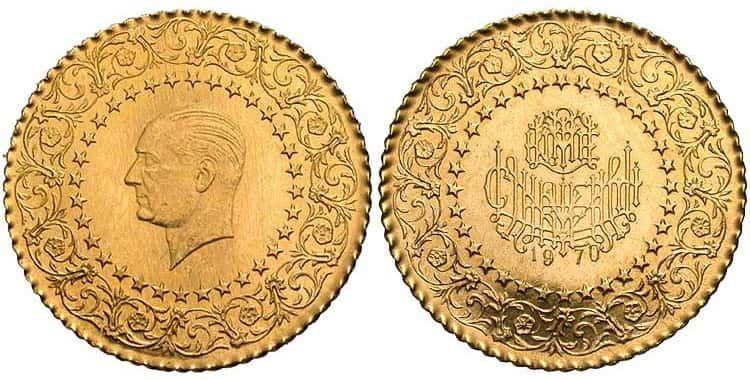 Золото в Турции