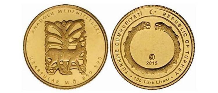 Золотые монеты Турции