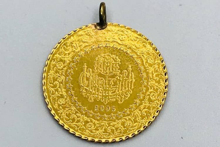Zolotye monety Turtsii
