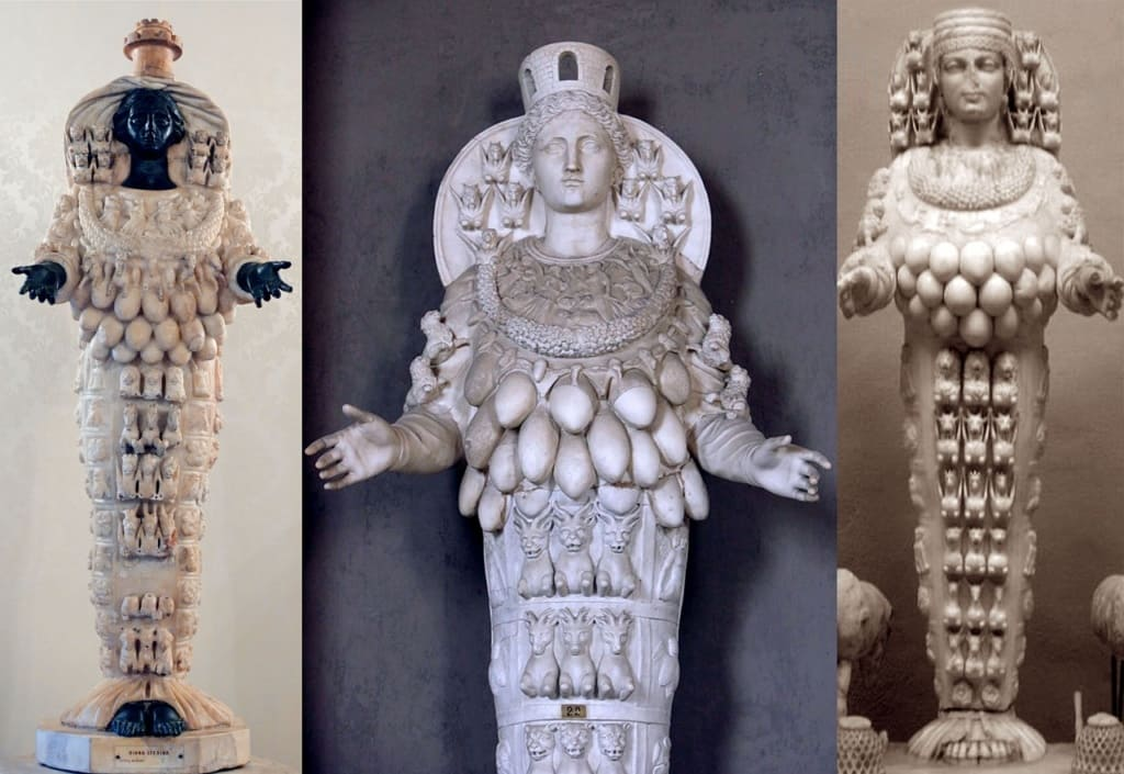 Артемида Эфесская многогрудая