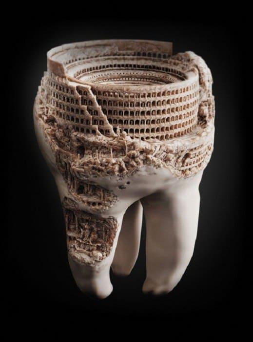 Искусство на зубах