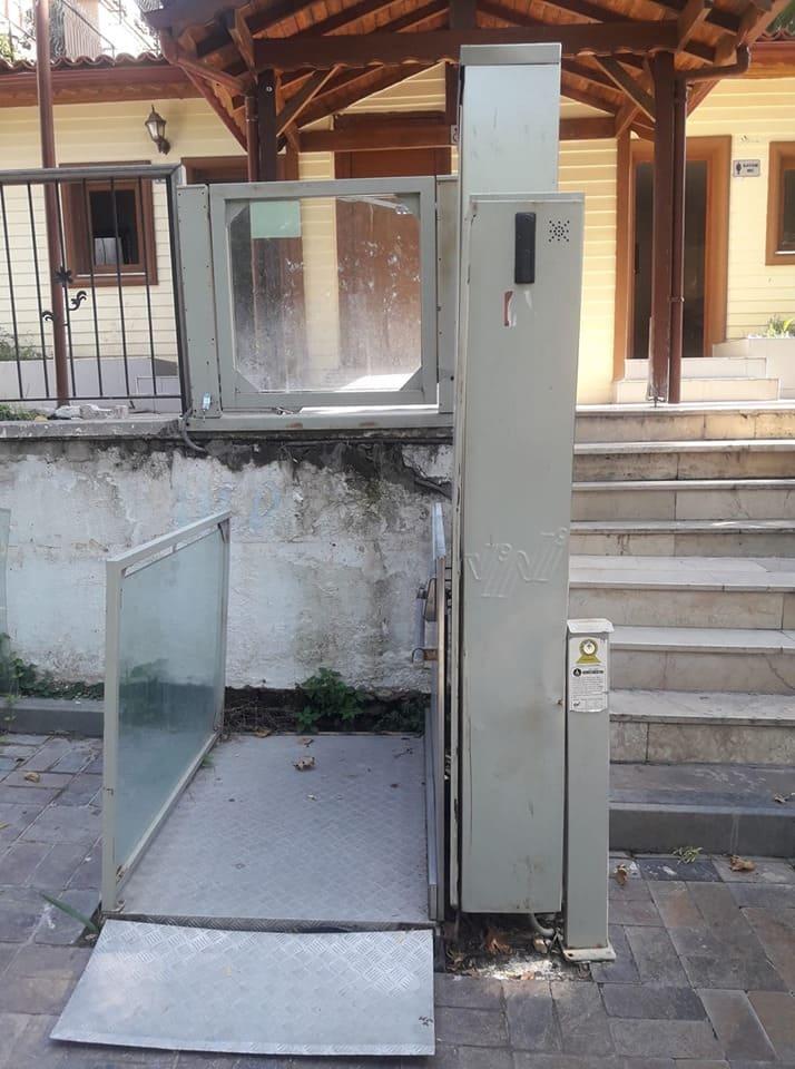 Лифт к туалету Турция Анталья