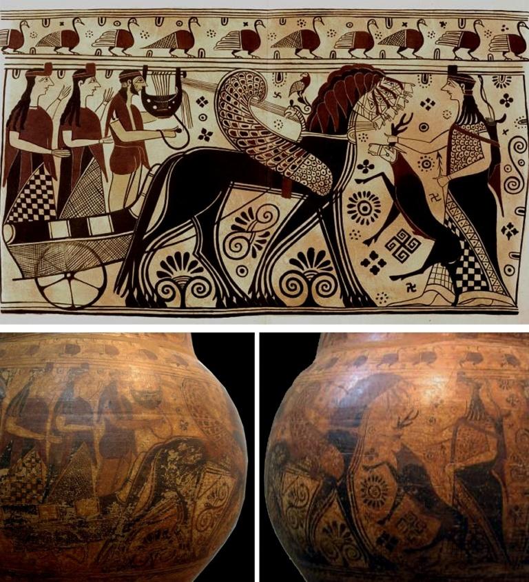 Северный олень Артемиды Эфесской
