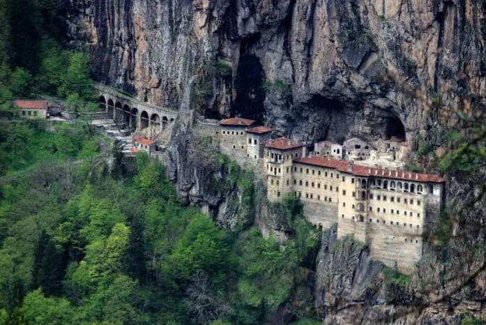 Монастырь Панагия Сумела Трабзон