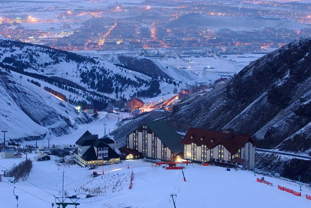 Паландокен Турция горнолыжный курорт