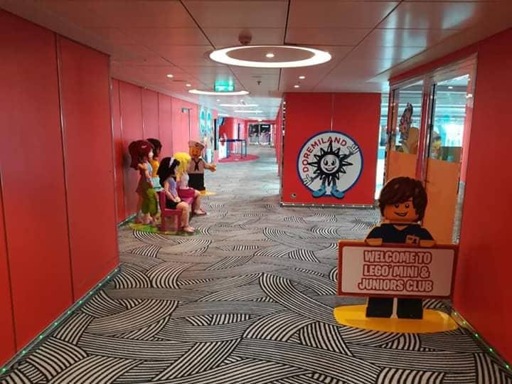 Детская зона на круизном лайнере