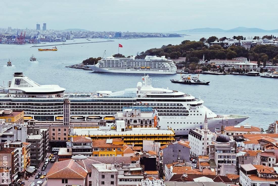 Стамбул круизный хаб