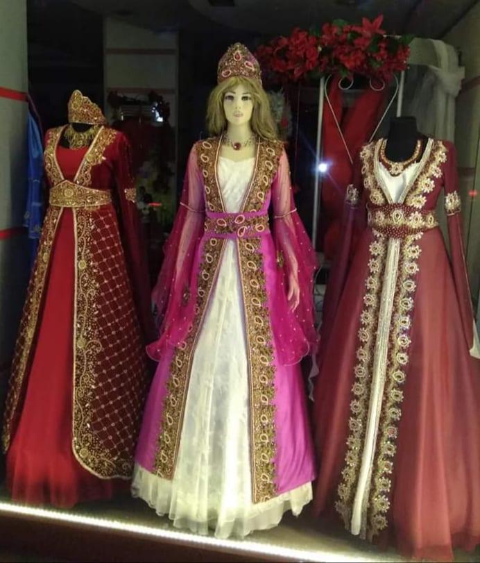Свадебный наряд в Турции